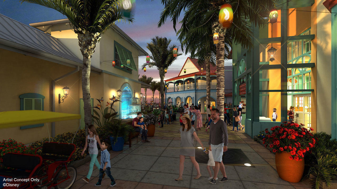 Disney Reveals Details For Revamped Caribbean Beach Resort Orlando Sentinel