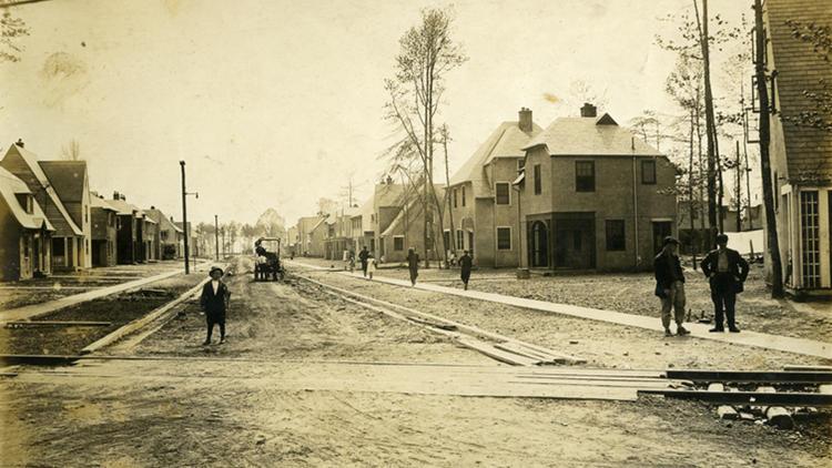 Pictures: World War I housing crisis spurred construction of landmark Hilton Village