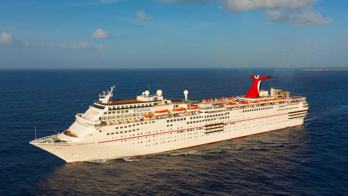 Carnival Elation To Replace Carnival Sunshine At Port