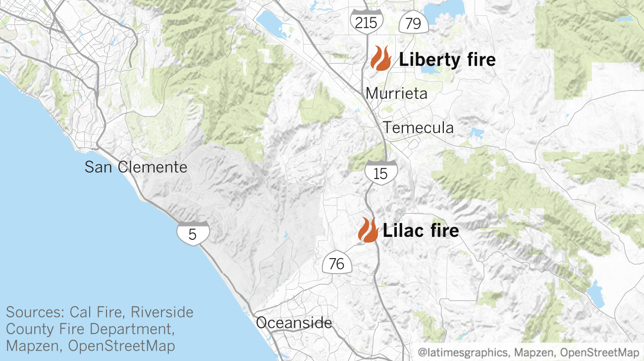 Wildfire Erupts In Murrieta Destroying One Structure Scorching 300