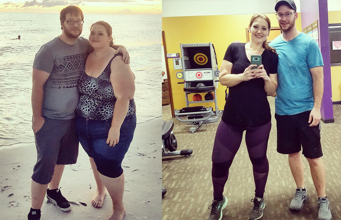 Obese Couple Sheds 400 Lbs So They Can Fulfill Dream Of