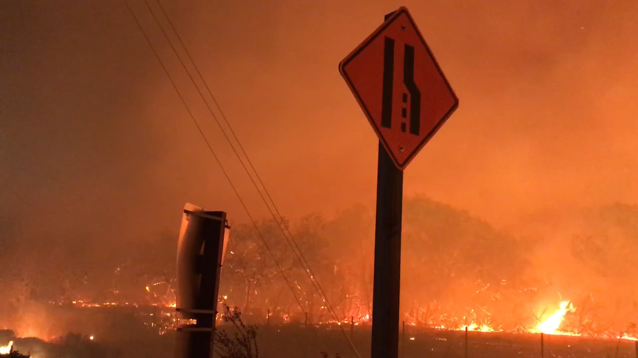 Lilac Fire Pictures >> California Fires Some San Diego County Evacuation Orders Changed