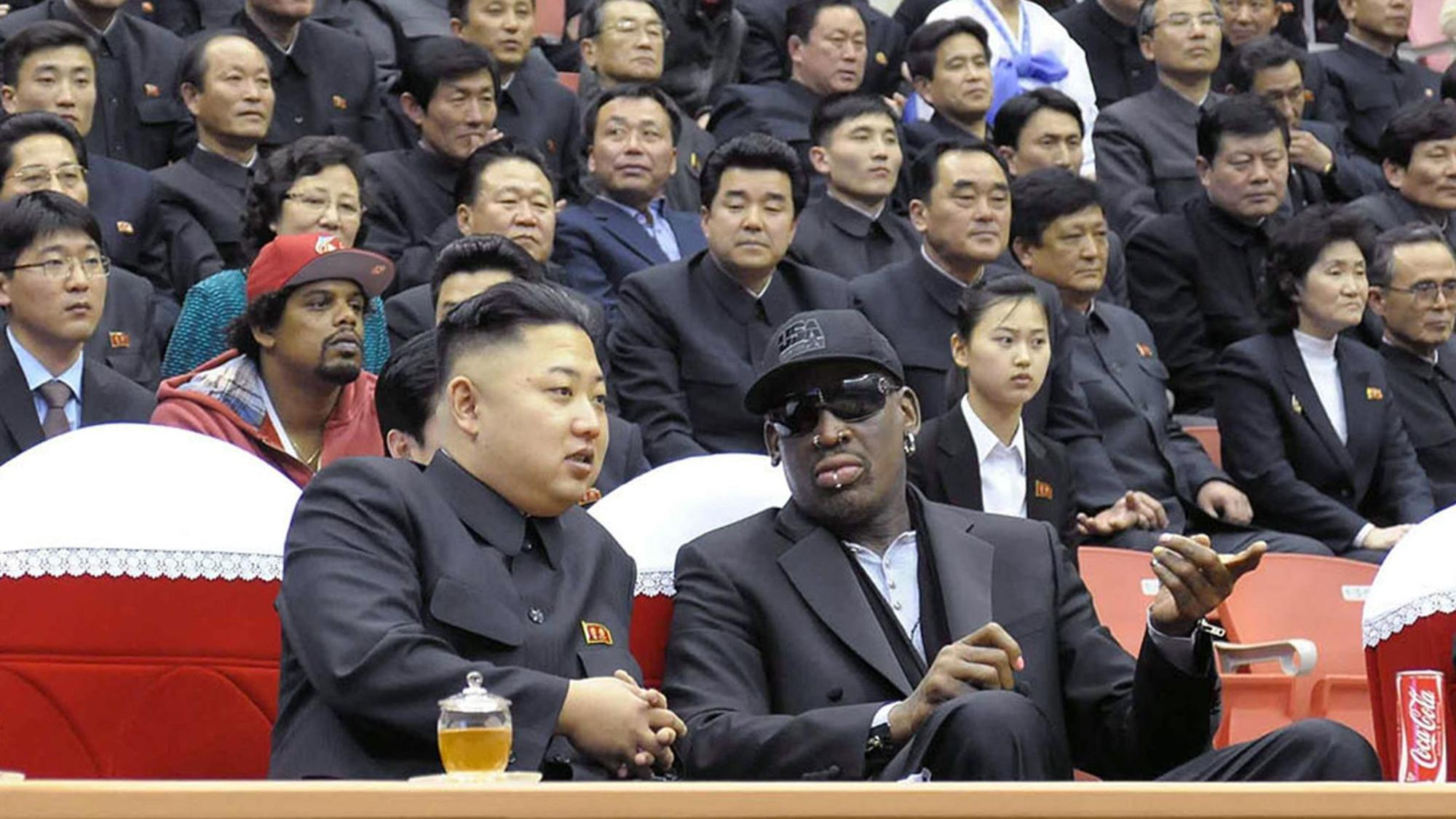 Dennis Rodman says he'll organize a basketball game between North Korea and U.S. territory Guam