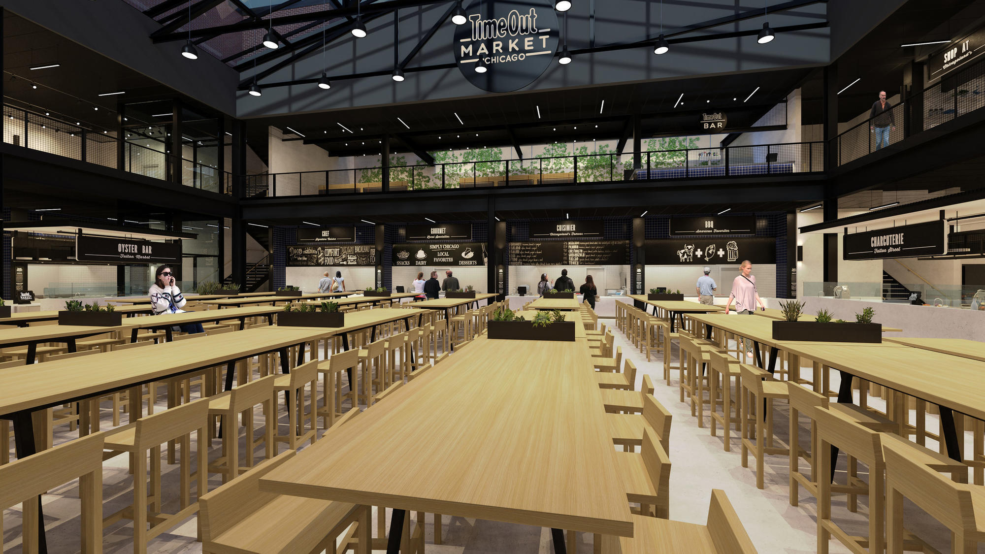 Time Out To Open One Of Chicago S Biggest Food Halls In