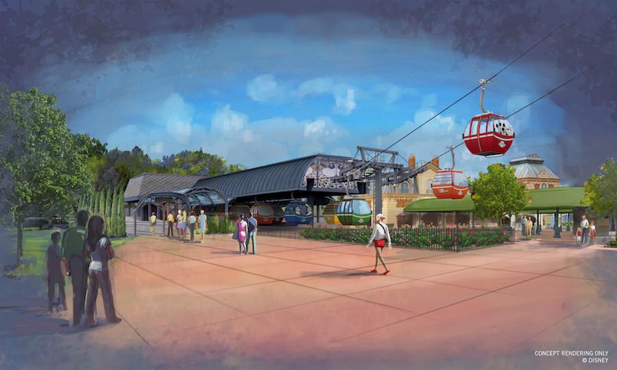 Disney Reveals Details For Skyliner Gondola System