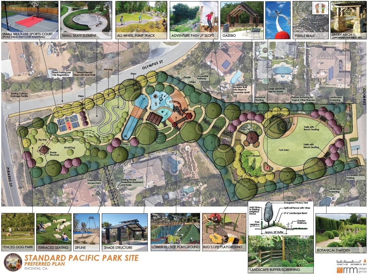 Preferred design of Standard Pacific Park
