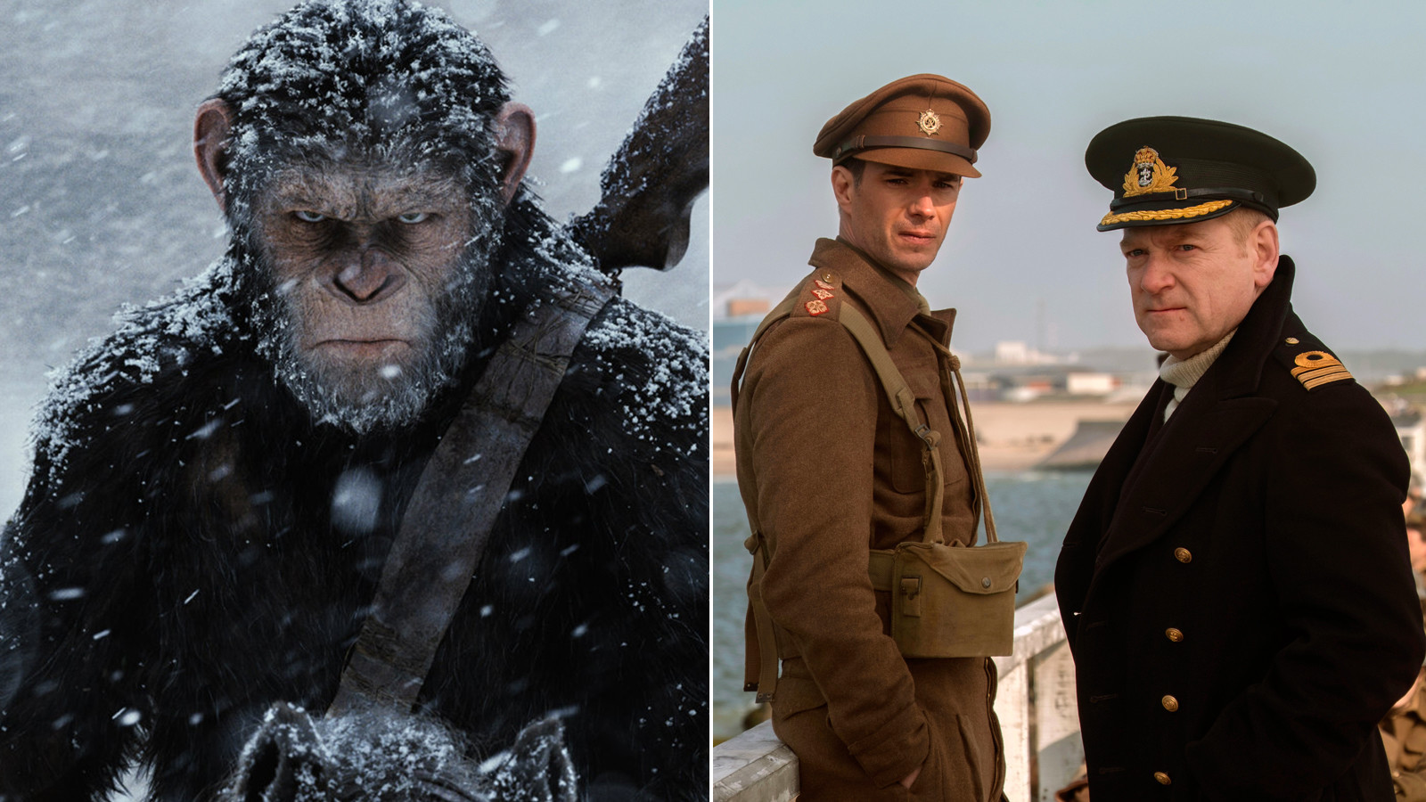 'War of the Planet of the Apes' and 'Dunkirk'