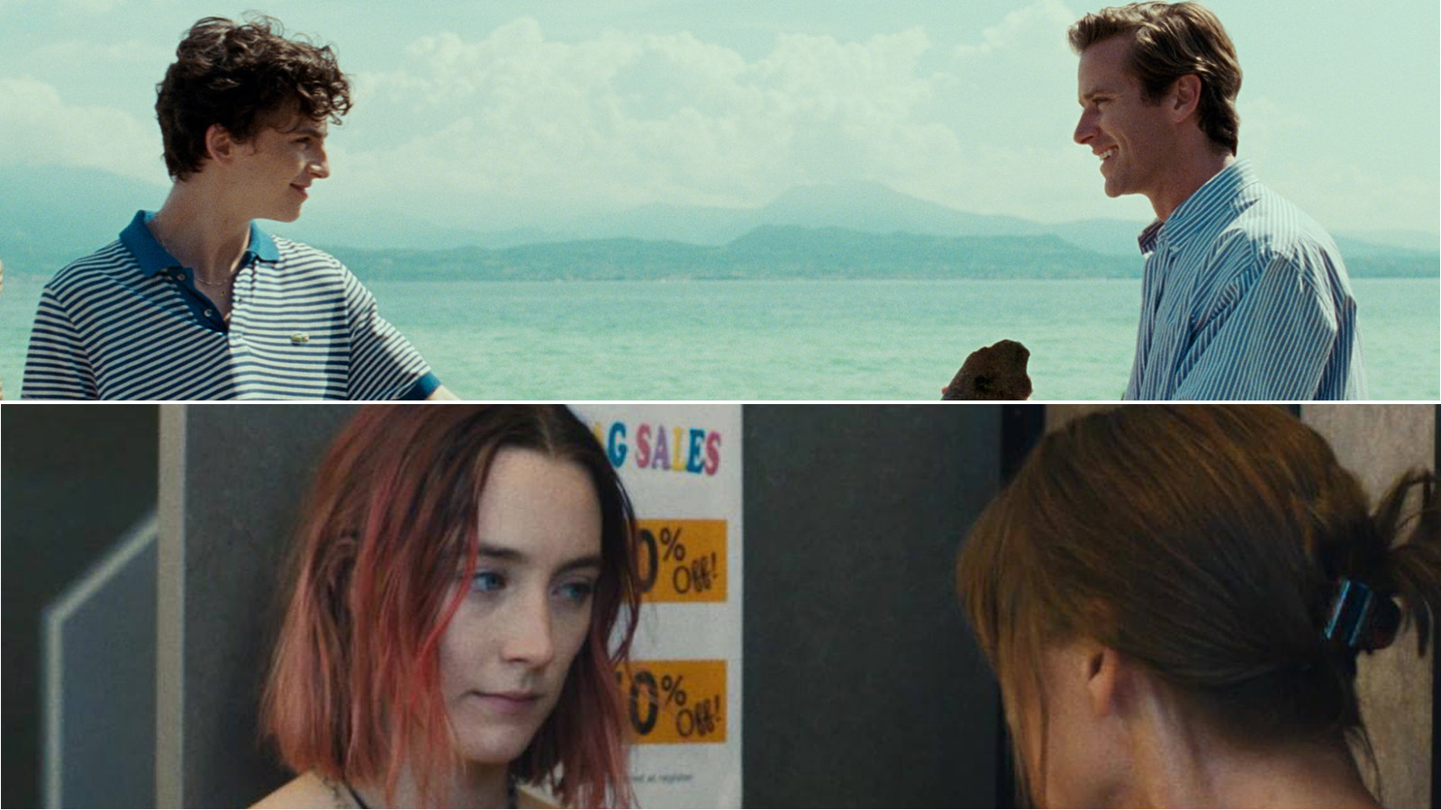 'Call Me By Your Name' and 'Lady bird'