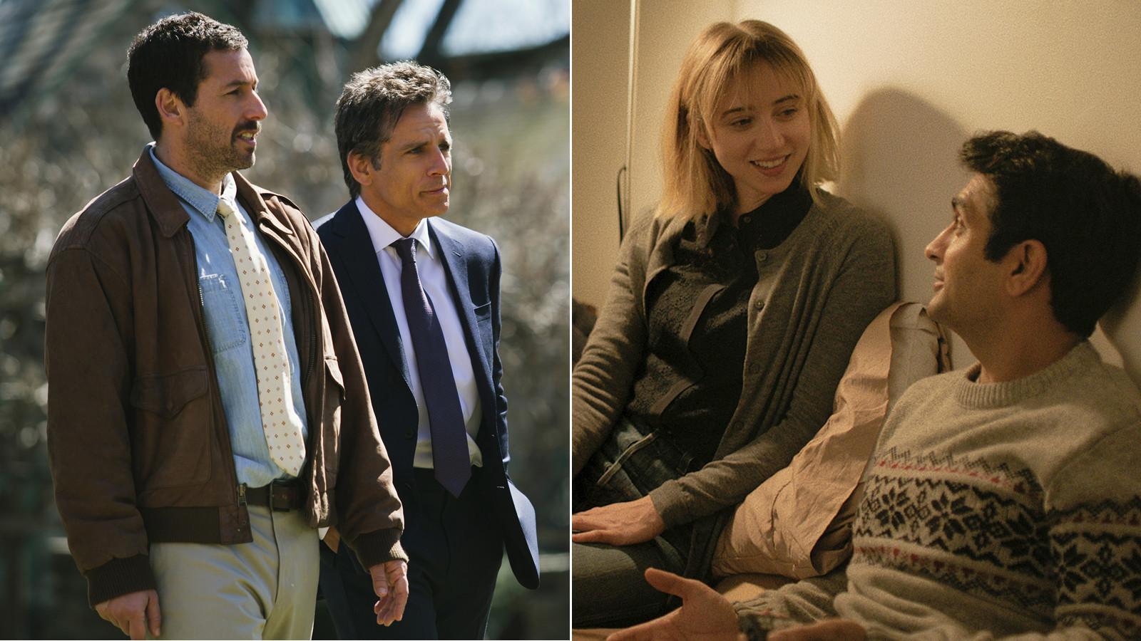 'The Meyerowitz Stories (New and Selected)' and 'The Big Sick'