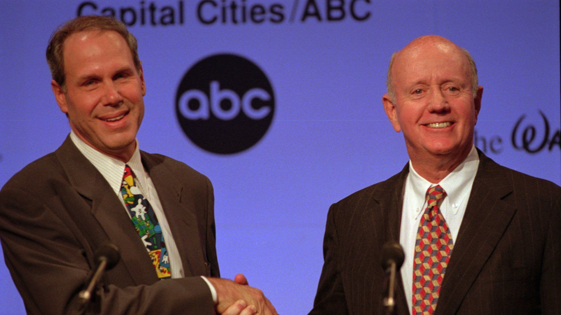 Michael Eisner and Thomas Murphy