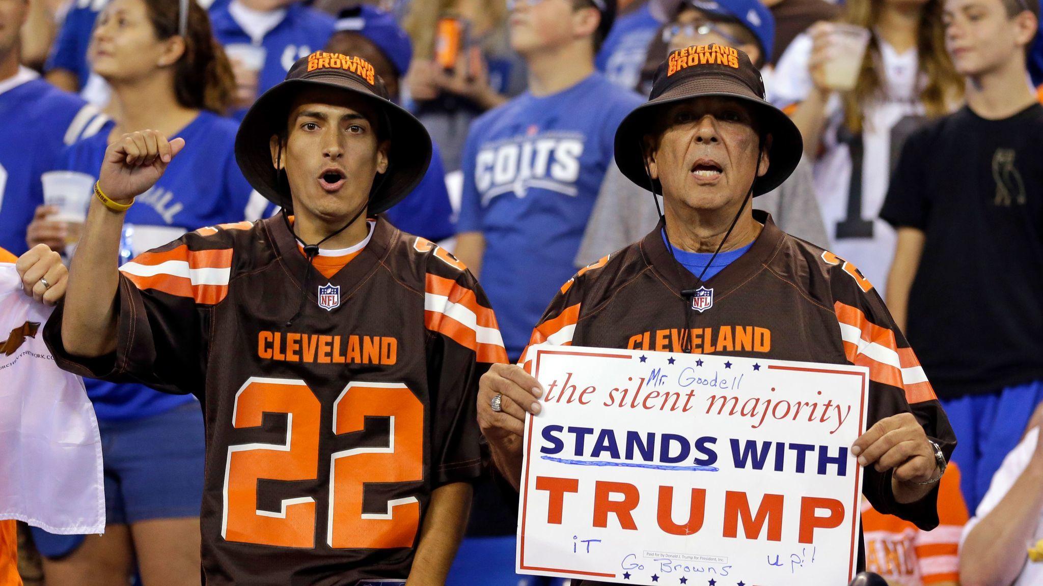 Cleveland Browns fans