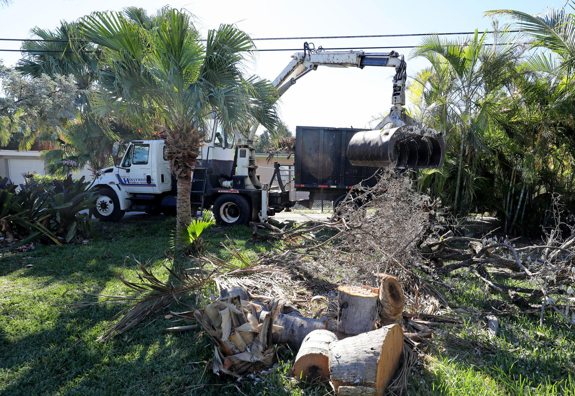 Hurricane Irma Debris Cleanup Close To Finished In South