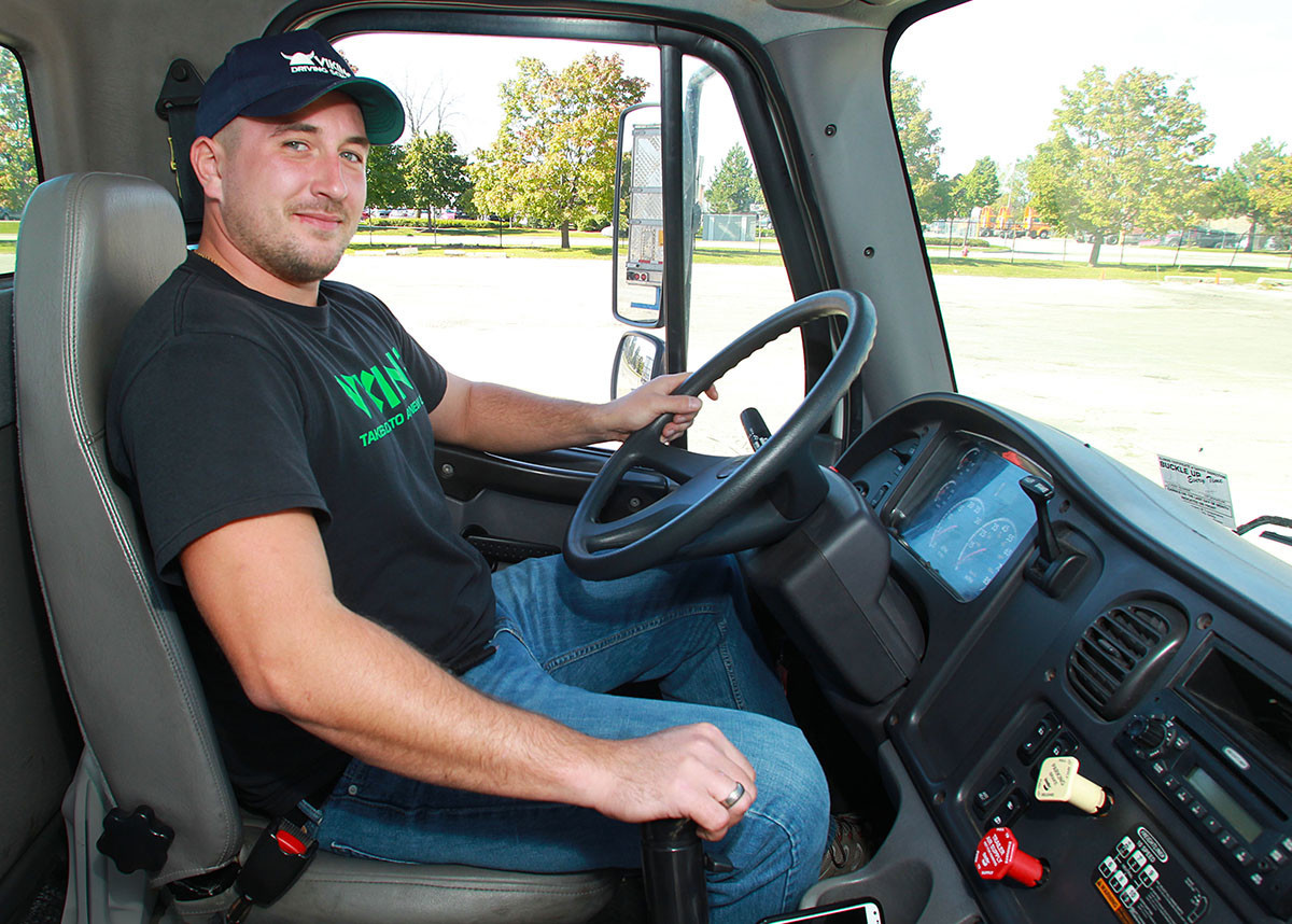 prepare for a truck driving profession in as little as two months at