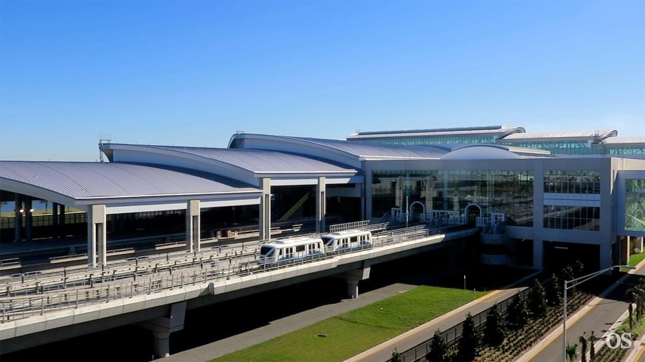 Orlando Airport Offers Tranquility At Garage C And People