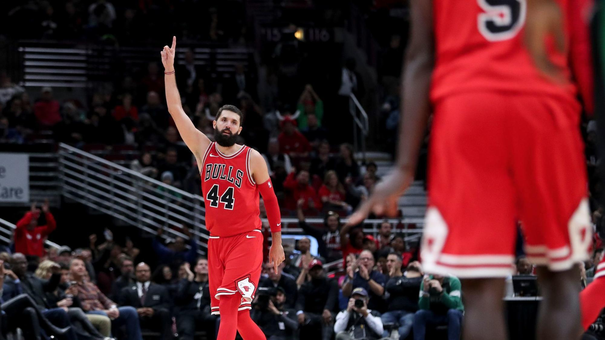Nikola Mirotic and Bobby Portis only speak to each other on the court -  Chicago Tribune f6d2d50b8