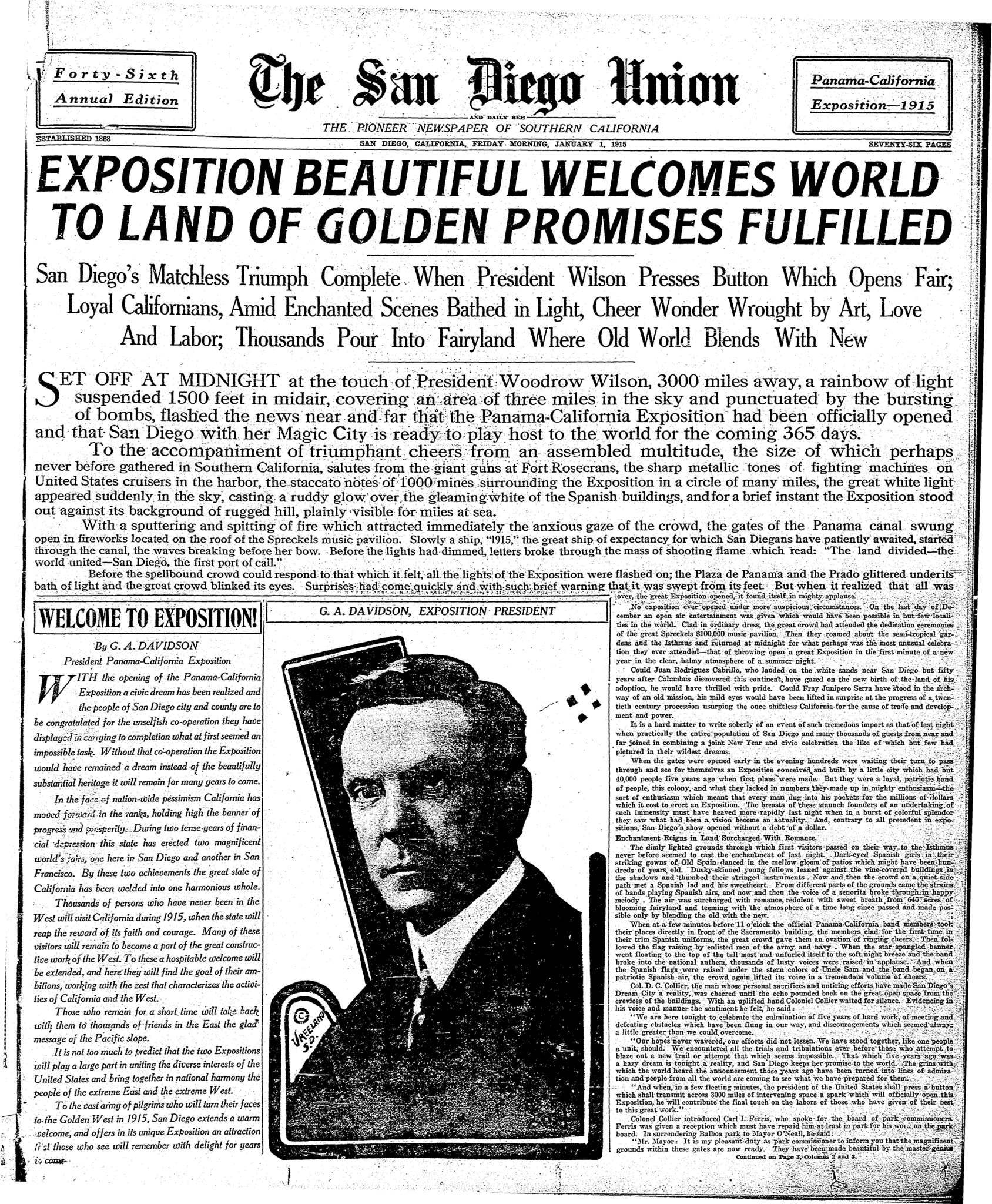 January 1, 1915