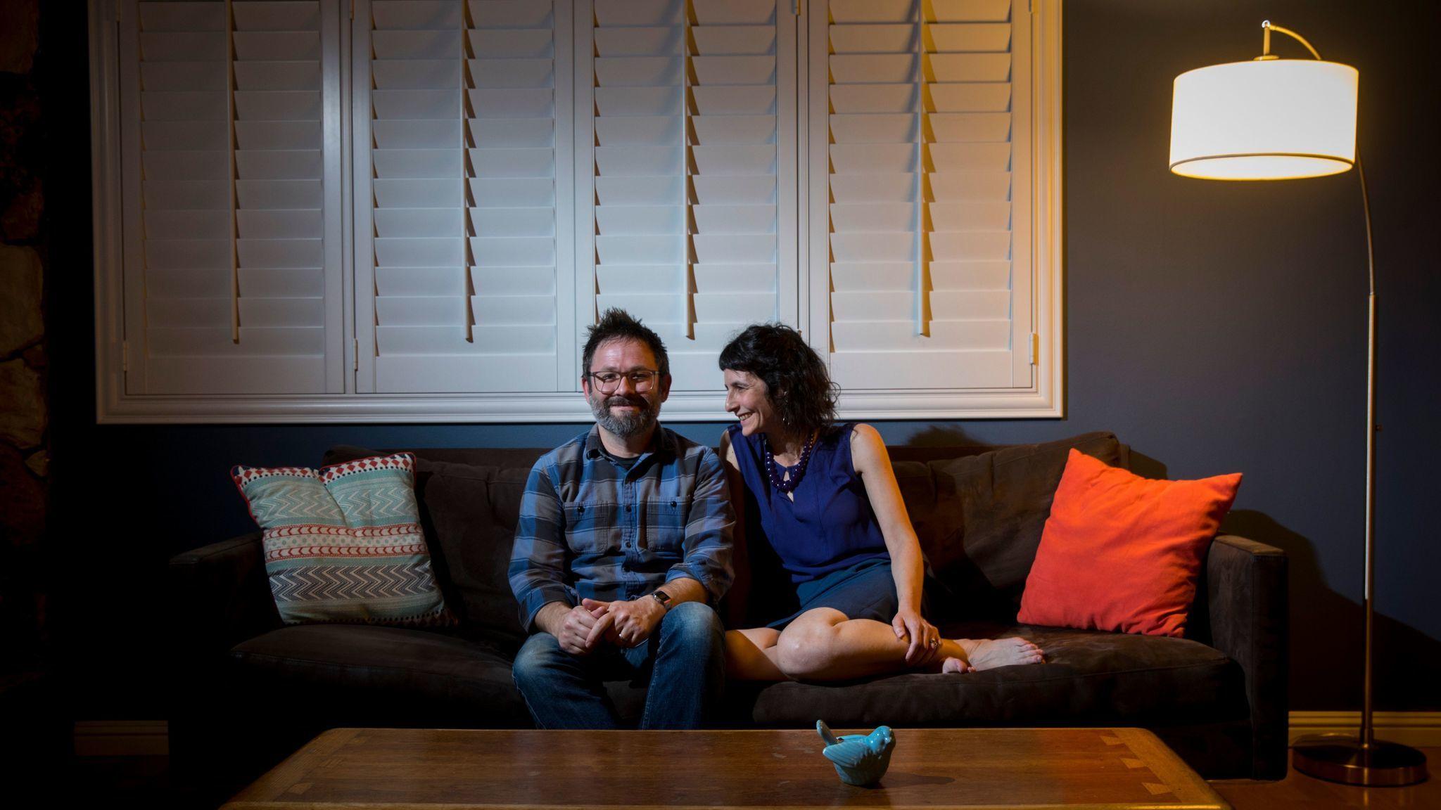 Maya Bader and Matthew Pratt