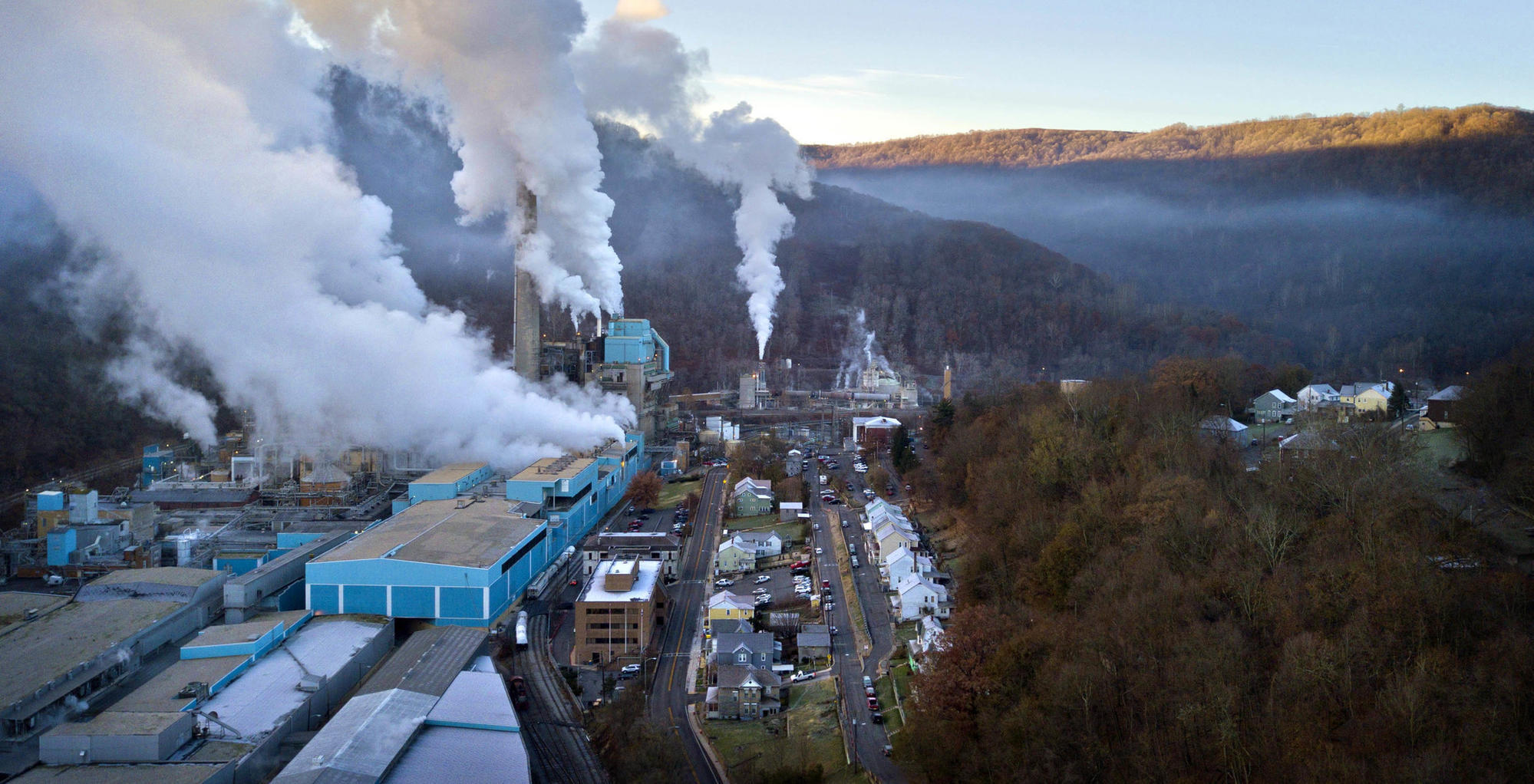 A Maryland Paper Mill Burns A Polluting Sludge Called