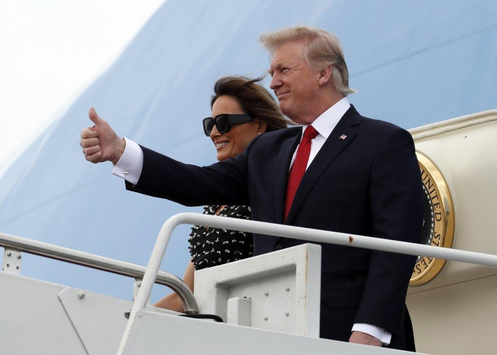 President Donald Trump expected to arrive in Palm Beach on Thursday