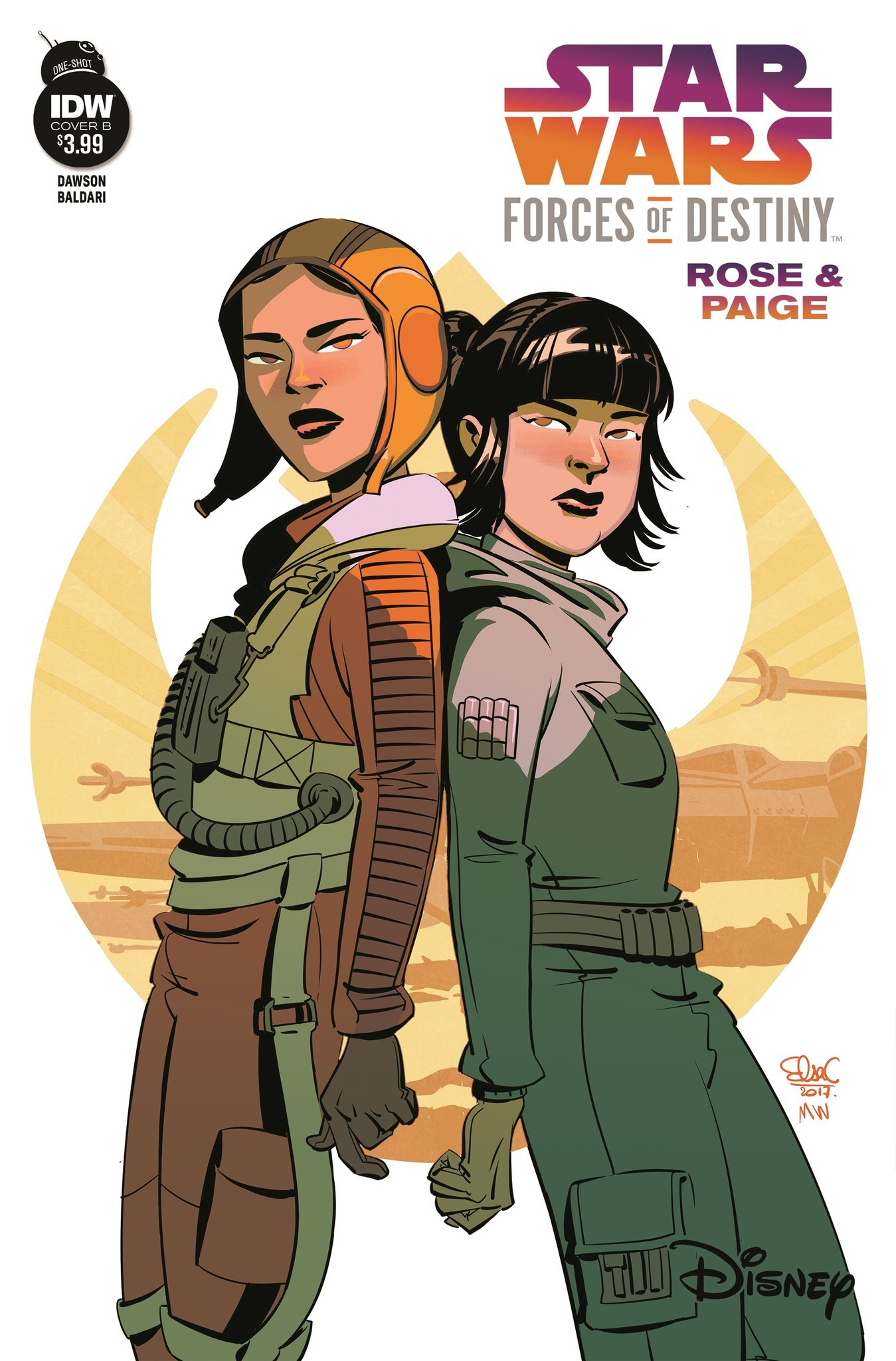 Rose and Paige Tico star in IDW's