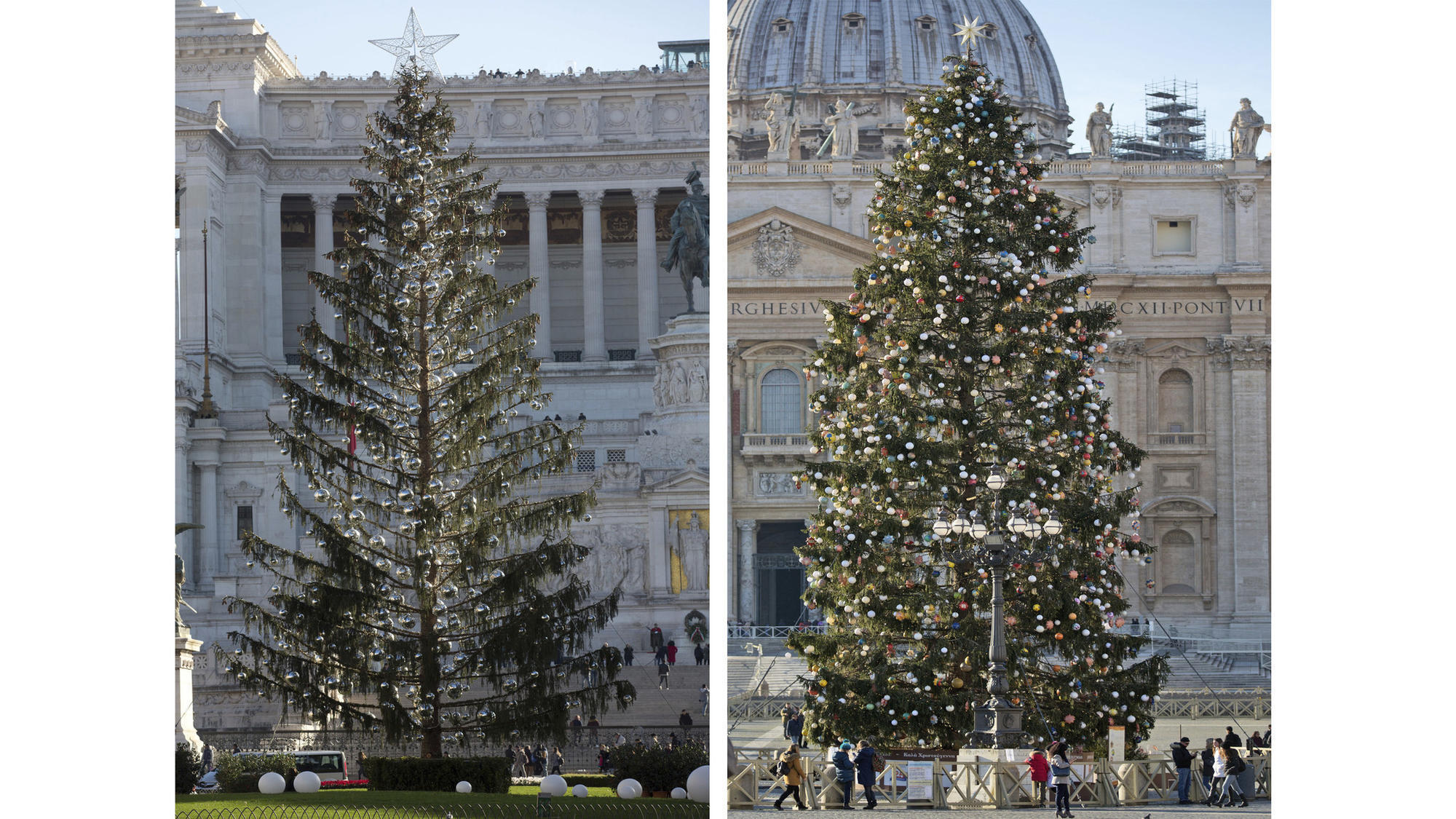 Rome's Official Christmas Tree Is Needled For Heavy