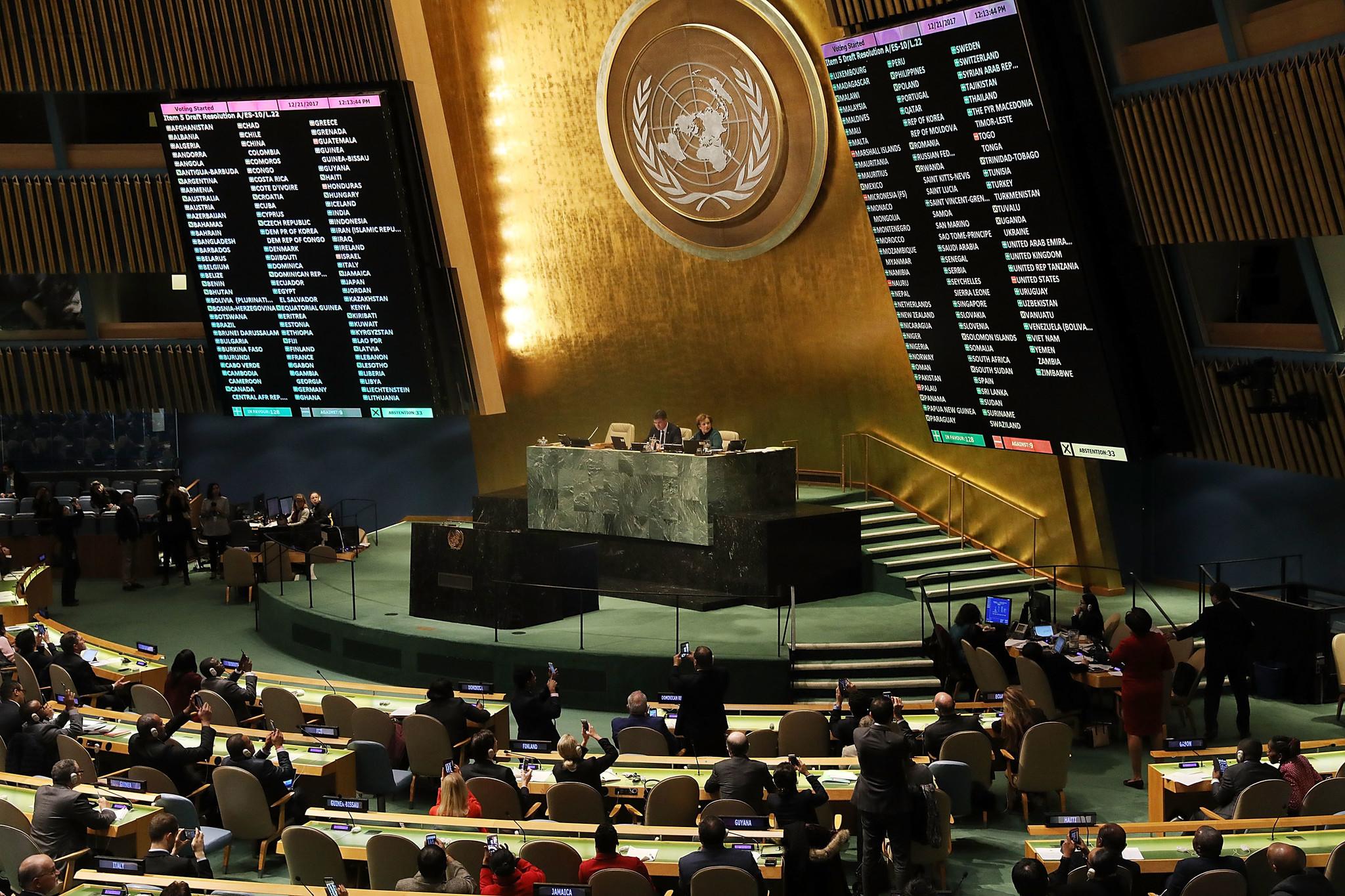 U.N. ignores Trump's t...
