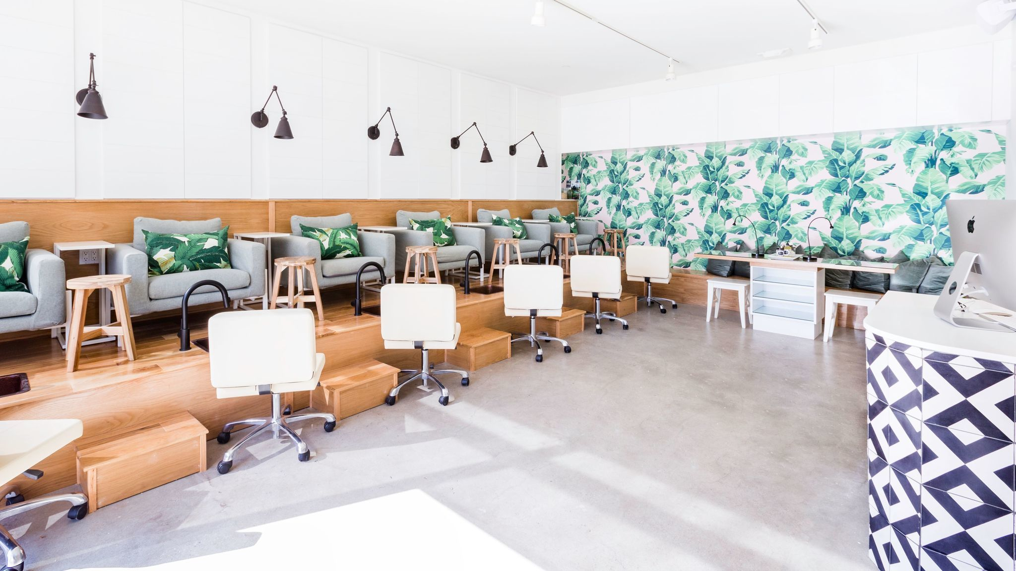 The second L.A. location of non-toxic nail salon Base Coat opened in November on Fairfax Avenue.
