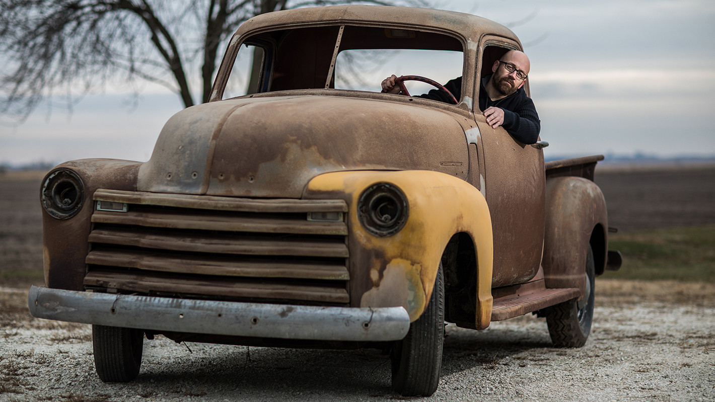restoring a 1950 chevy pickup to connect with the past chicago tribune. Black Bedroom Furniture Sets. Home Design Ideas