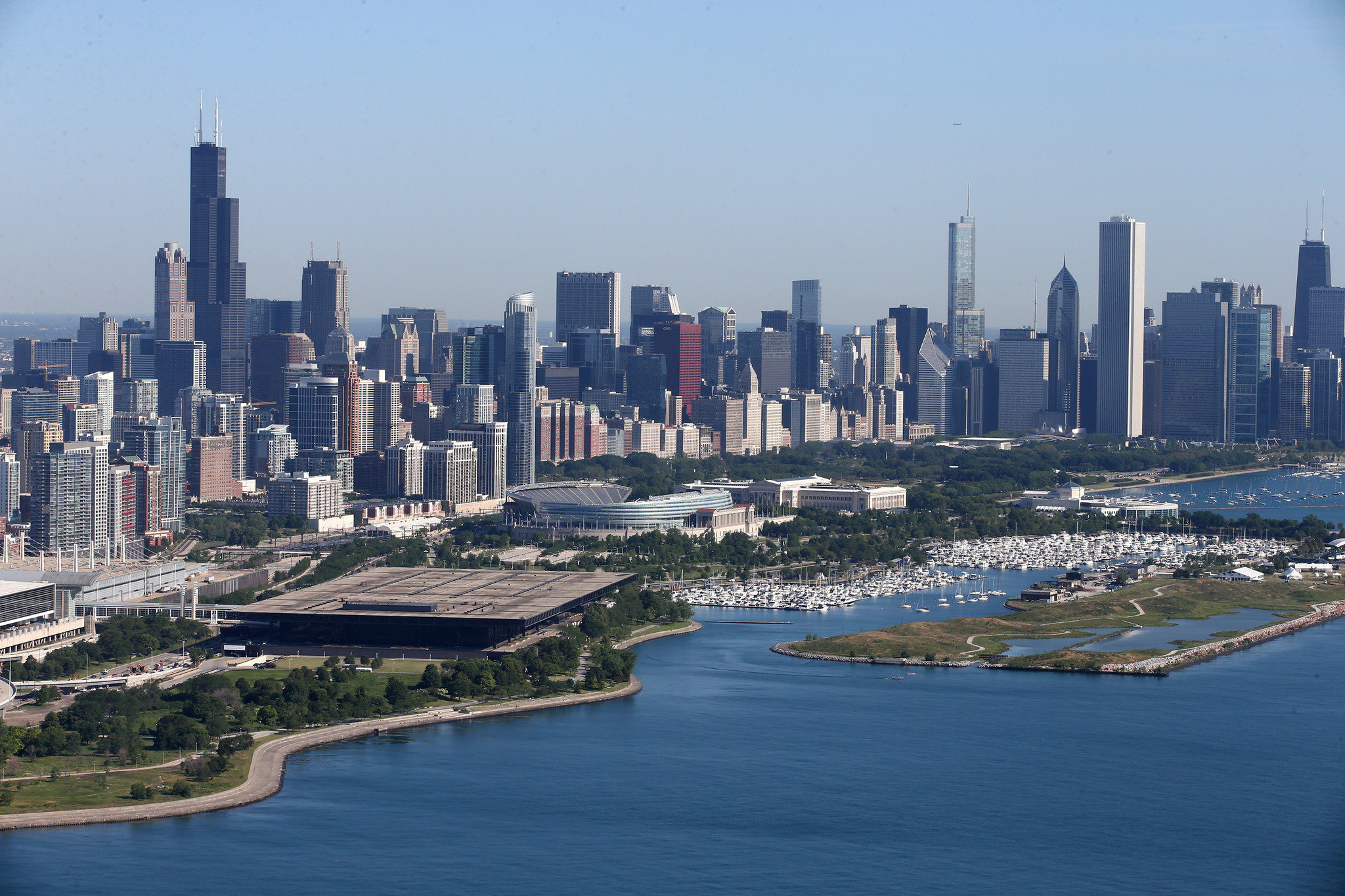 sizing up chicago for amazon chicago tribune