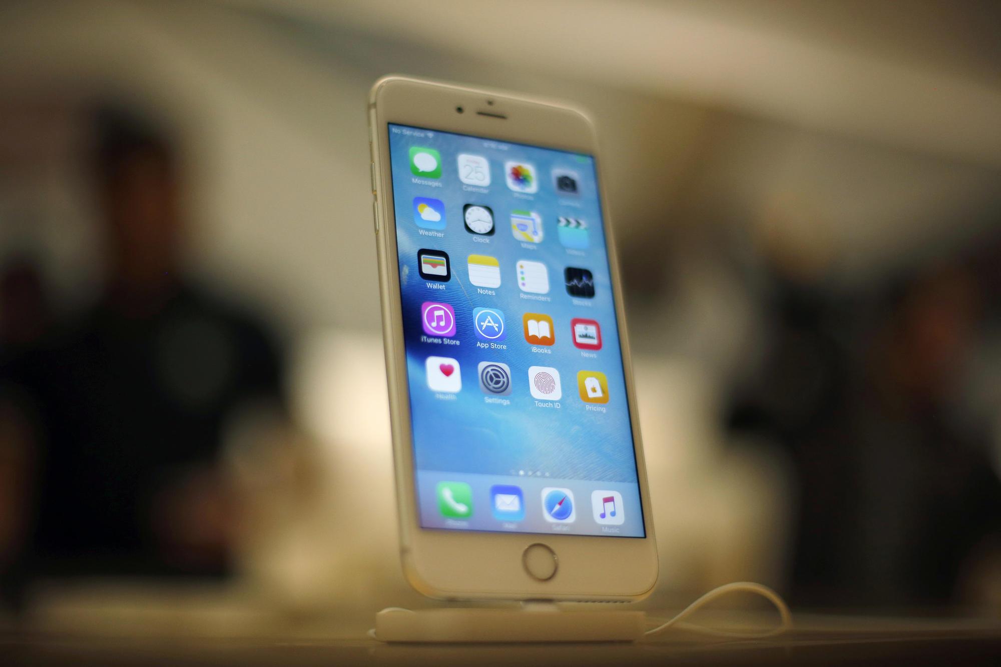 slowing iPhones