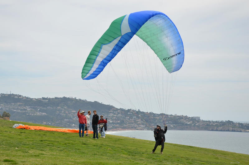 Watch gliders fly and architecture soar on a La Jolla