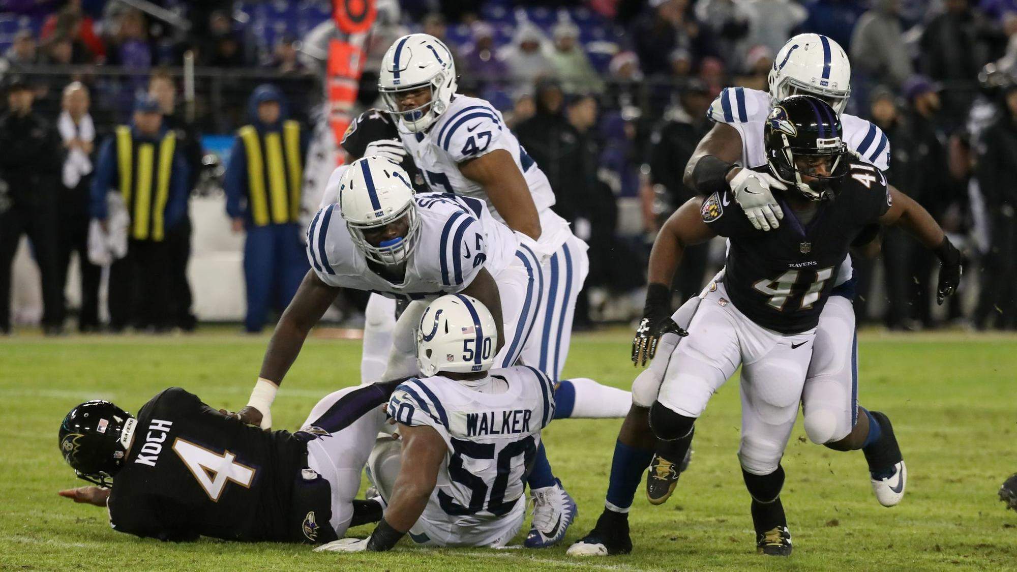 95ed0316c1d ... Jersey outlet Ravens special teams persevered through uneven outing  against Colts - Baltimore Sun ...