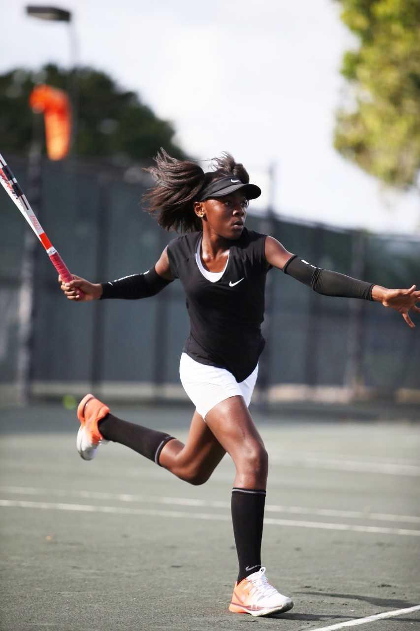 39 little mo 39 grand slam tennis champion makes history on - Palm beach gardens tennis center ...