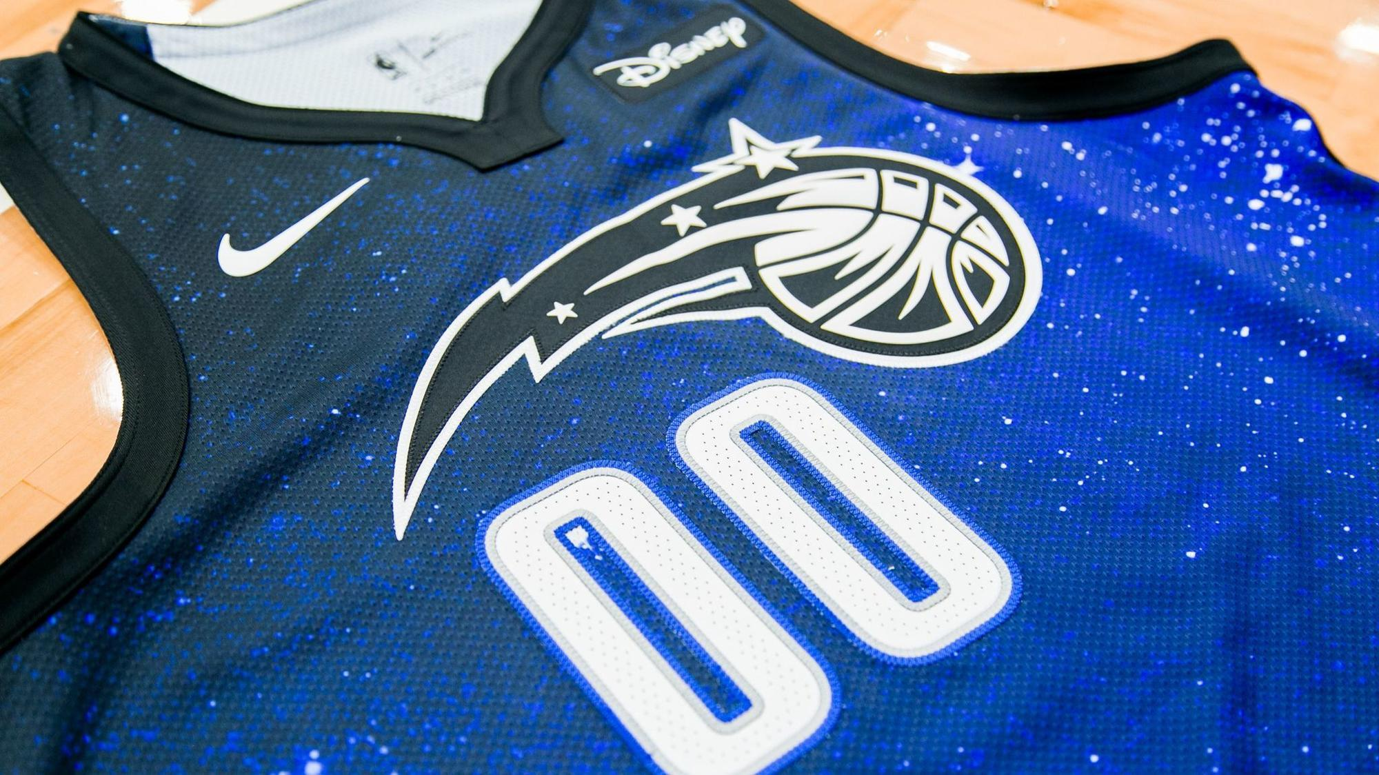 huge discount bebfb 918a8 orlando magic jersey disney