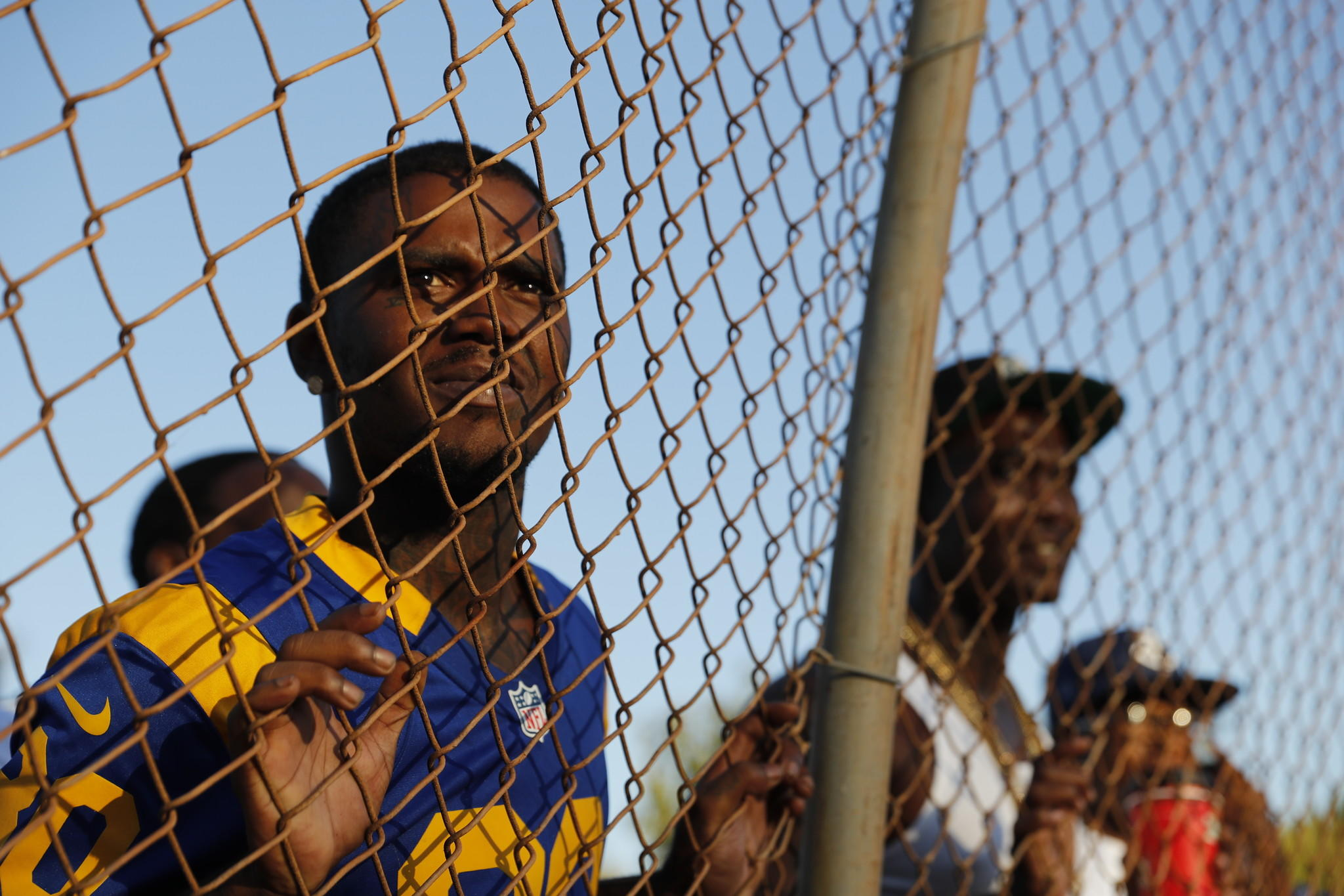 Crips make peace on the softball field - Los Angeles Times