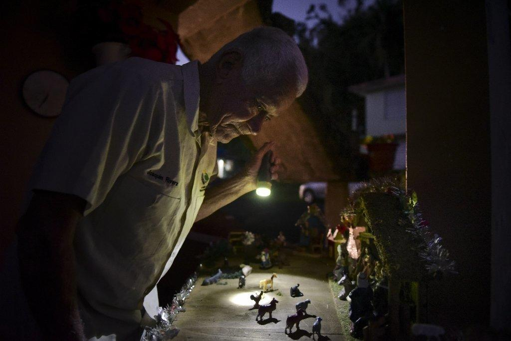 Living without power in Puerto Rico