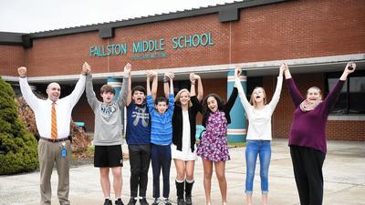 Fallston Middle School Blue Ribbon School