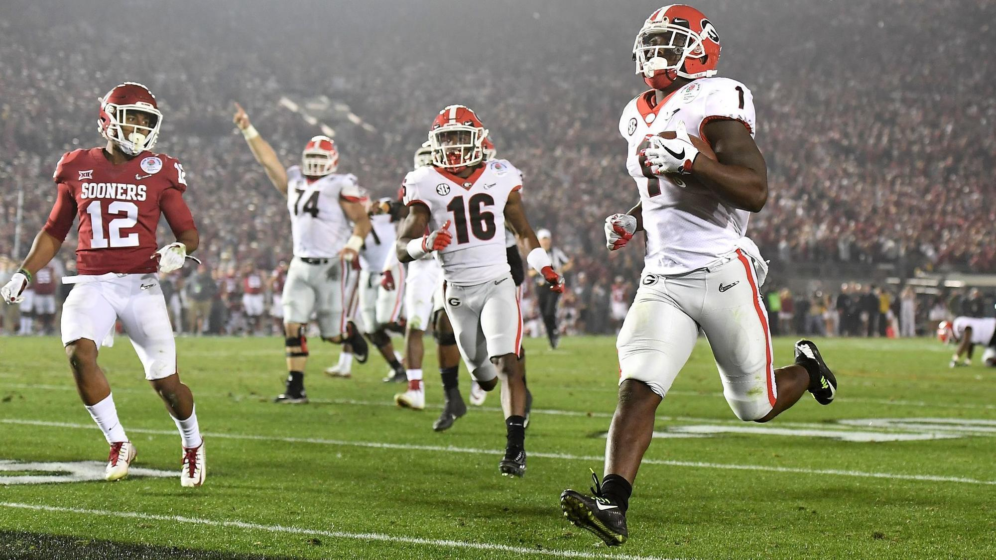 Georgia claims a 54-48 double-overtime victory over ...