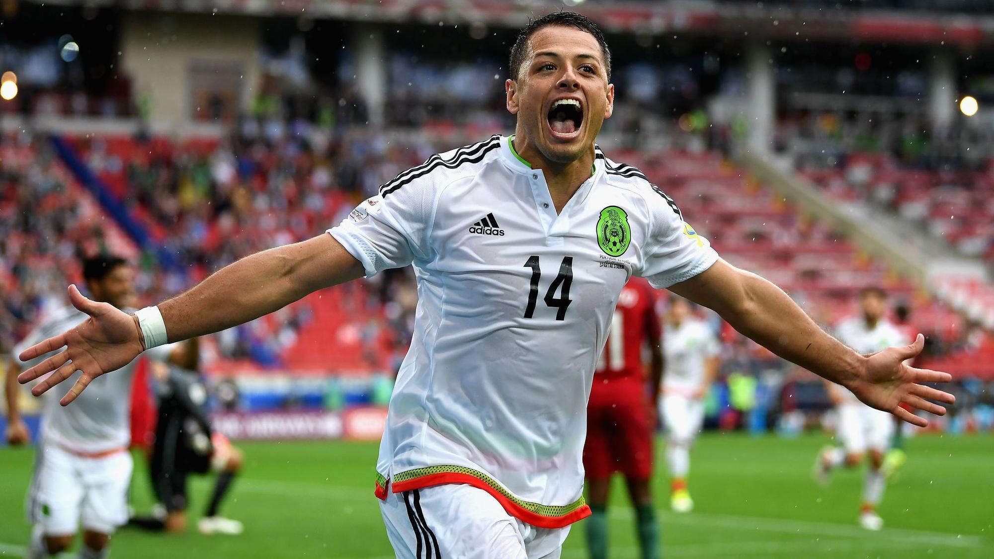 Resultado de imagen para chicharito selección mexicana
