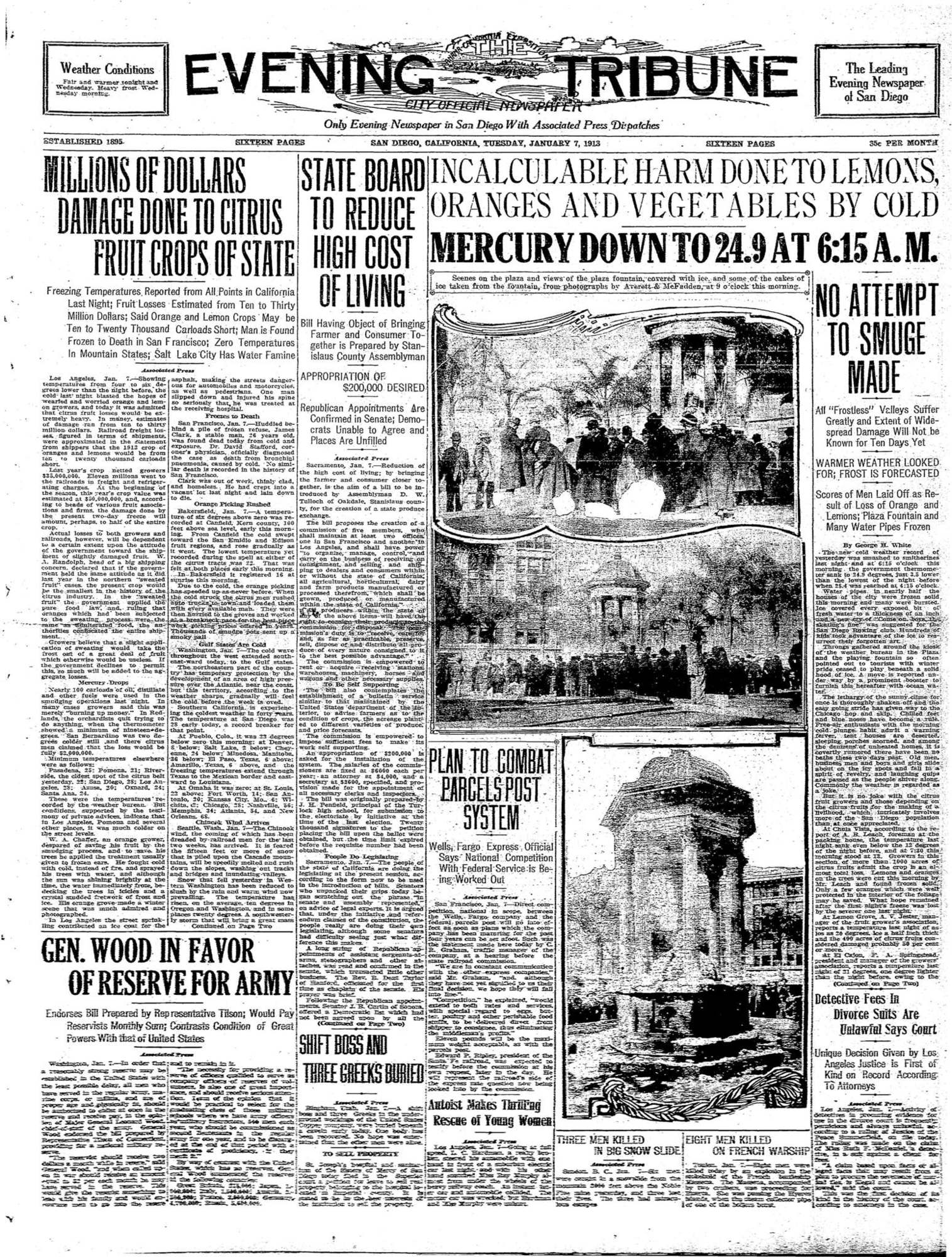 January 7, 1913
