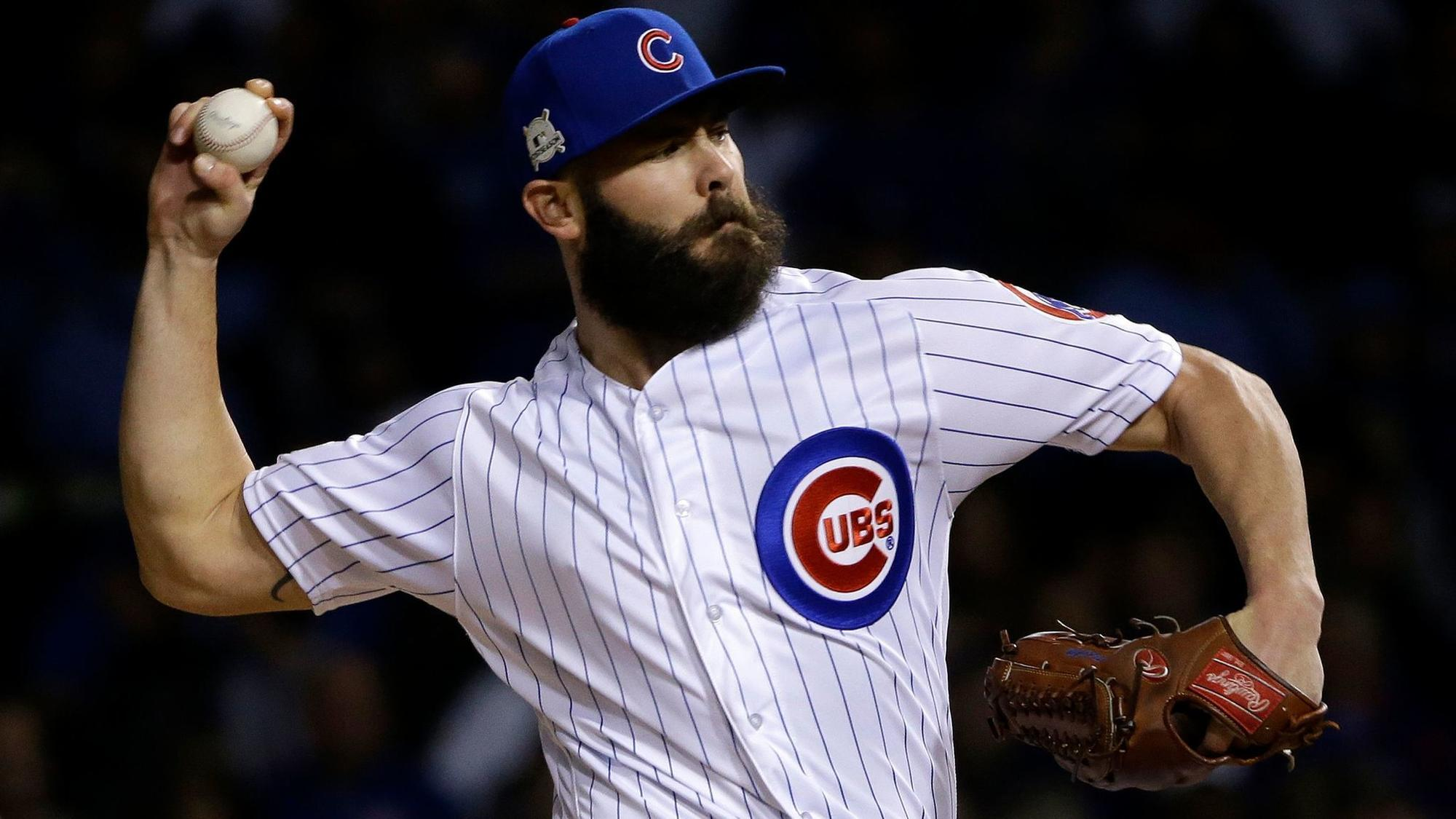5a0c3a377c1 Landing Jake Arrieta with 4-year offer would be a win for Cubs. Starting pitcher  Jake Arrieta