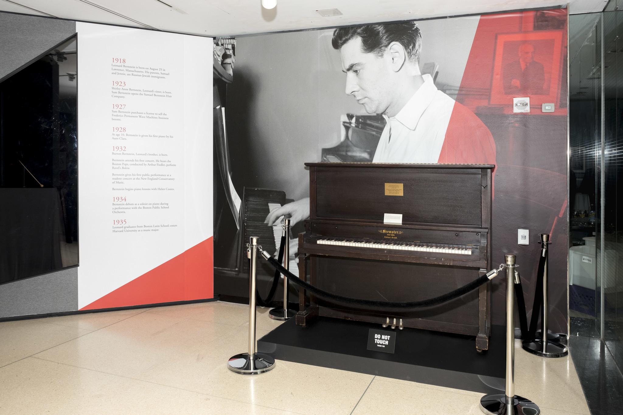 Grammy Museum's Leonard Bernstein traveling exhibit