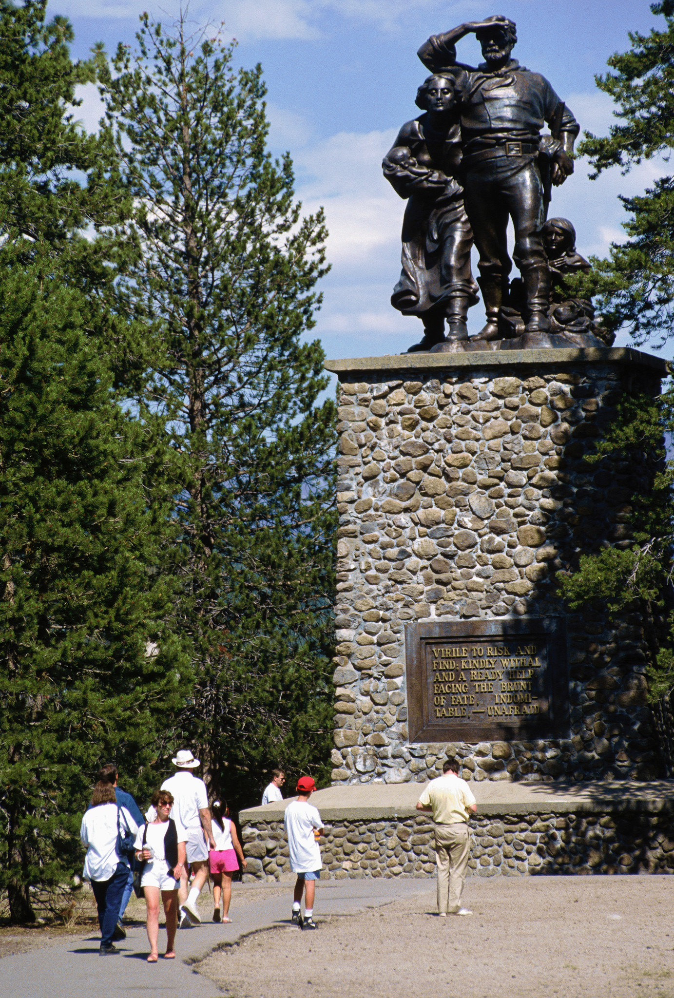 The Donner Monument