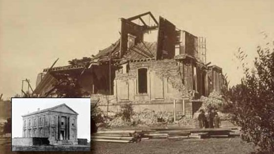 Damage from 1868 Hayward Fault quake