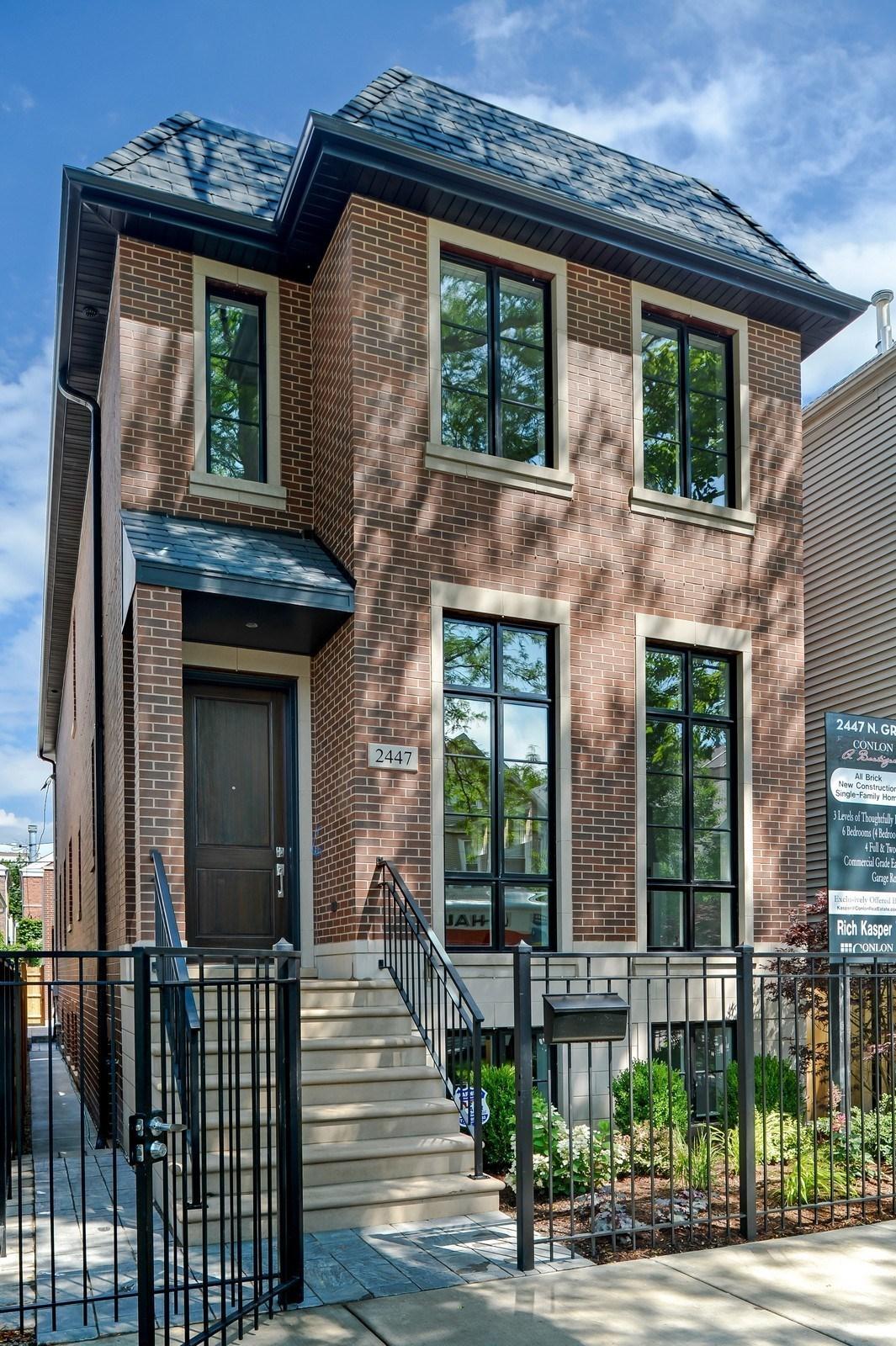 New Brick Home In Lincoln Park 1 7m Chicago Tribune