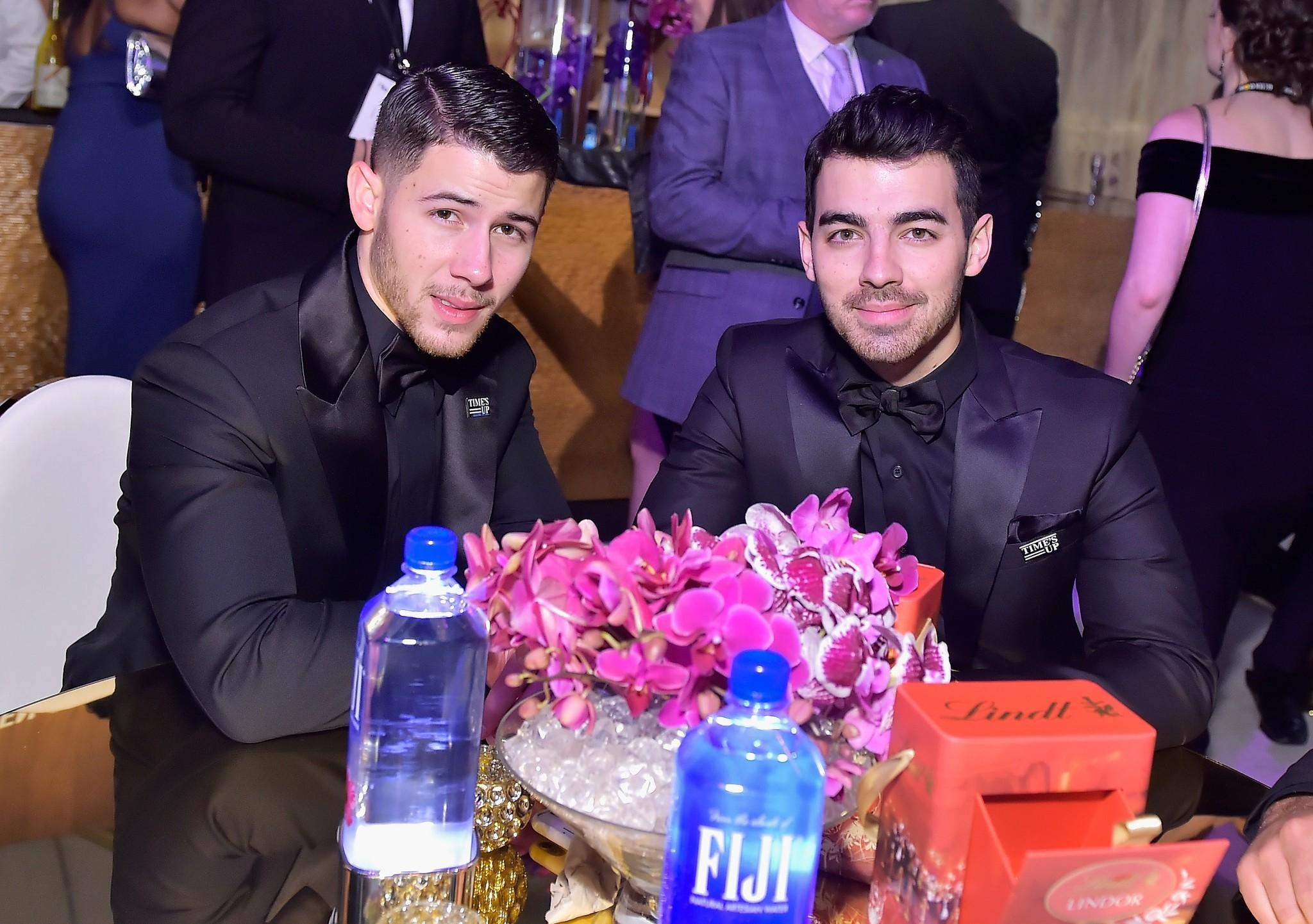FIJI Water at the 75th annual Golden Globe Awards Celebration