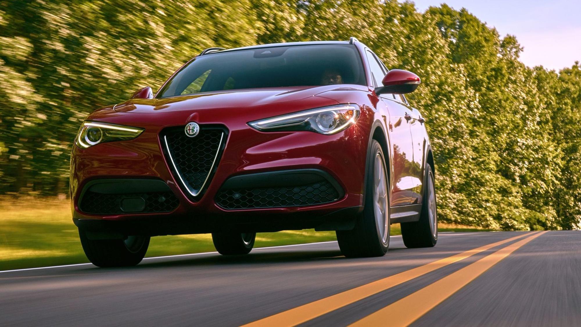 2018 Alfa Romeo Stelvio An Italian Job For The Family The San