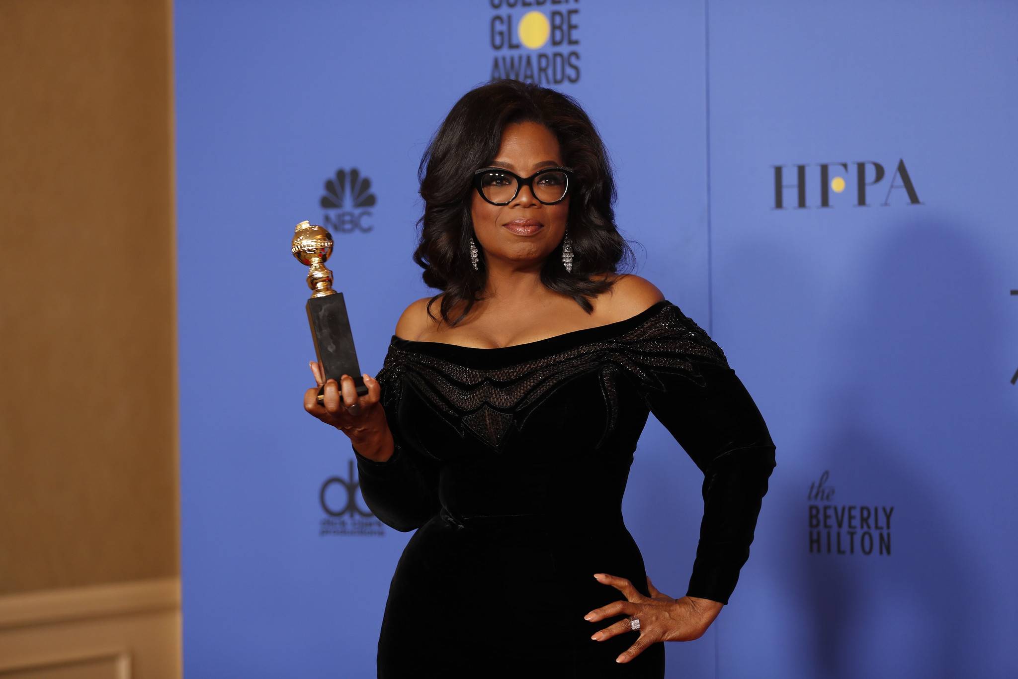 BEVERLY HILLS, CA - January 7, 2018 Oprah Winfrey won the Cecil B. DeMille Awards in the Photo Dea
