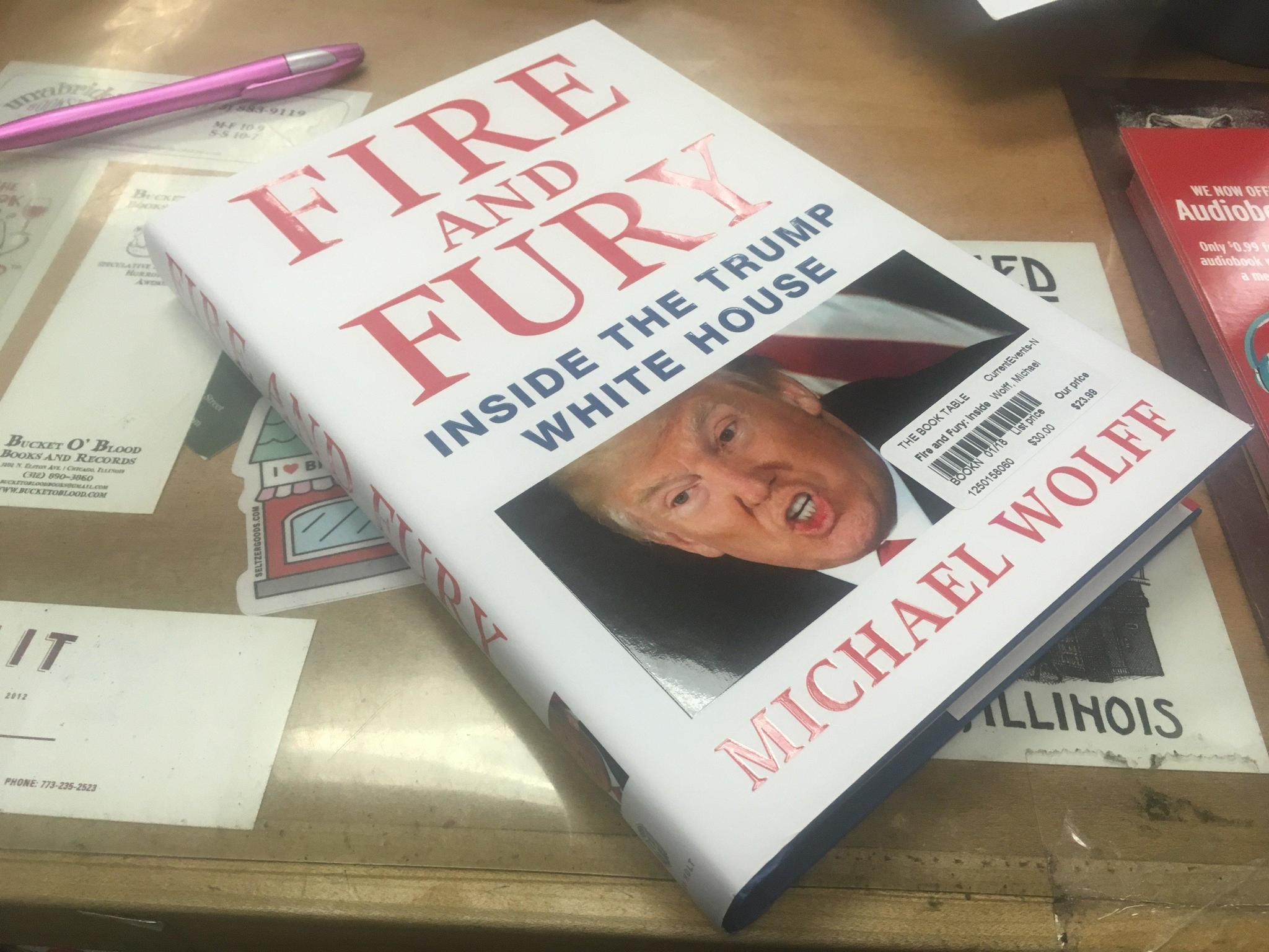 libraries and bookstores try to catch up with demand for tell all book about trump the doings. Black Bedroom Furniture Sets. Home Design Ideas