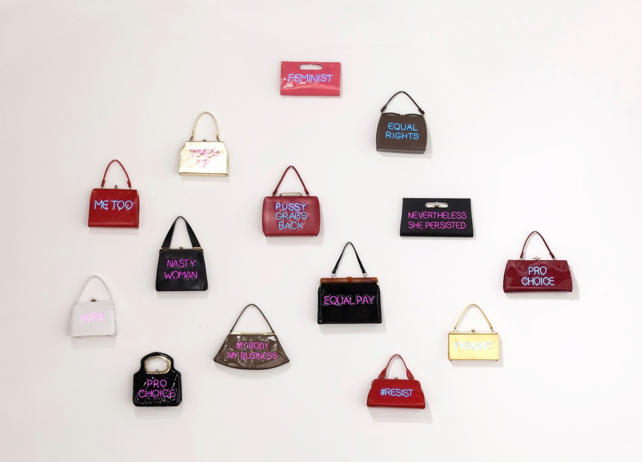 """""""Power of the Purse,"""" by Michele Pred."""